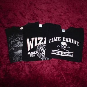 Other - Deadliest Catch Series T-Shirt Bundle